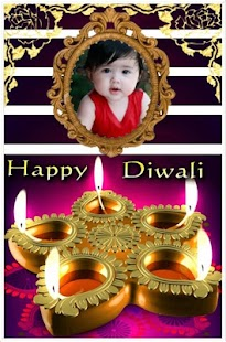 Happy Diwali Greetings, Photo Frames - náhled