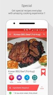 Korean Recipes - náhled