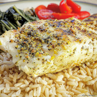 """Sea"" Grilled Cod Recipe"