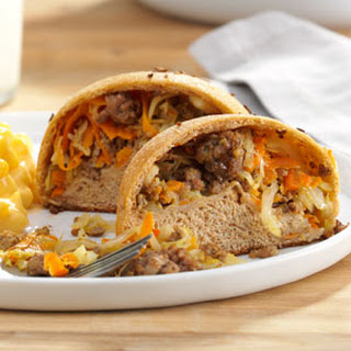 Hearty Beef & Cabbage Pockets