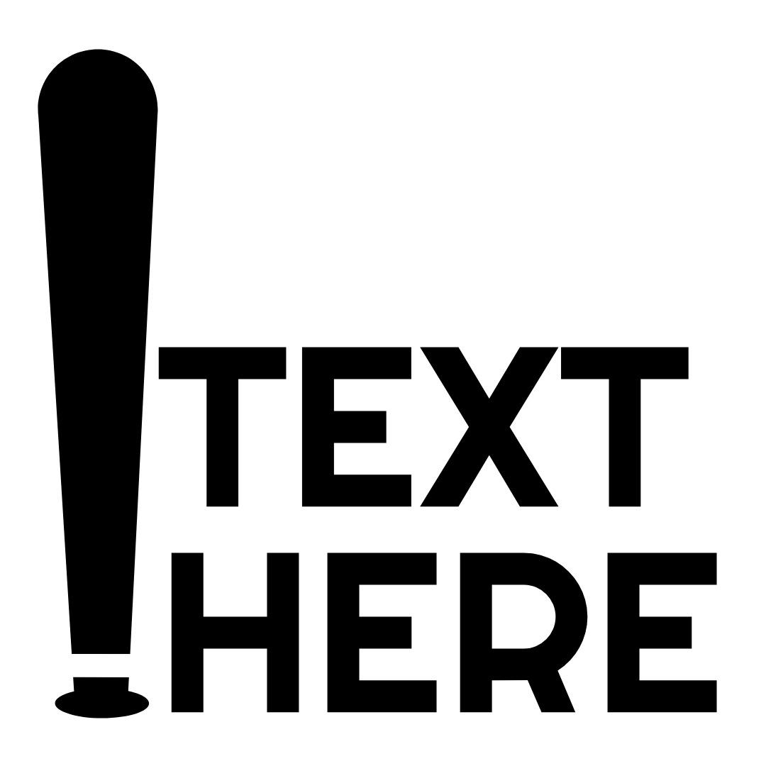 baseball bat logo