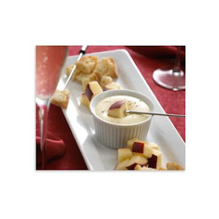 Creme De Brie Fondue For Two.
