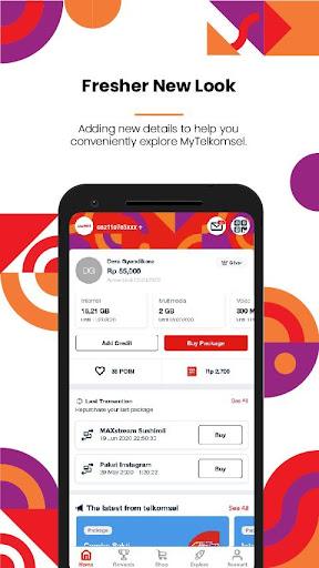 MyTelkomsel u2013 Check & Buy Packages, Redeem POIN 5.5.0 Screenshots 2
