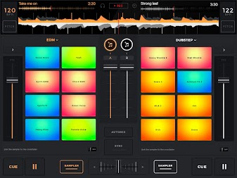 edjing Mix: DJ music mixer APK screenshot thumbnail 5