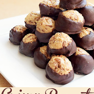 Crunchy Peanut Butter Balls Recipe and Dessert Share-Fest Recipe
