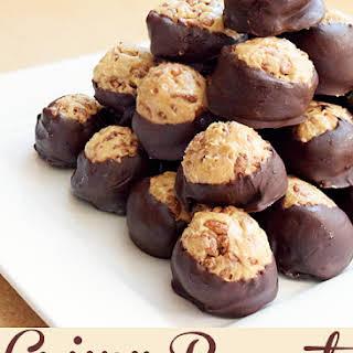 Crunchy Peanut Butter Balls Recipe and Dessert Share-Fest.
