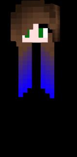 mèche bleu