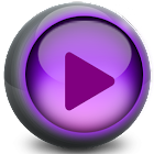 High Resolution video player icon