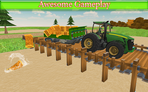 Tractor Drive Farming Simulator - náhled