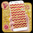 Tema de Gold Muti Wave Giltter icon