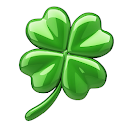 Lucky Clover charm, get good luck and love now icon