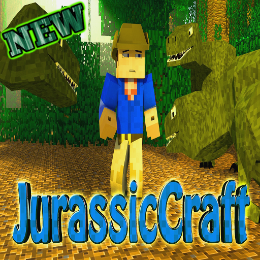 Jurassic Craft Addon McPE
