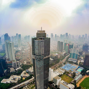 Tallest by Irfan Firdaus - Buildings & Architecture Office Buildings & Hotels ( travel photography, nature, panoramic, cityscape, skyscraper )