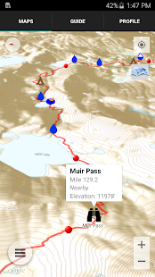 Guthook's JMT Guide - screenshot thumbnail