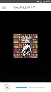 Web Rádio K7 FM - náhled