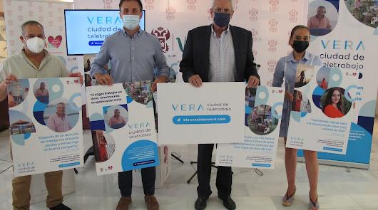 """Vera quiere convertirse en una """"ciudad de teletrabajo"""" pionera en la provincia"""