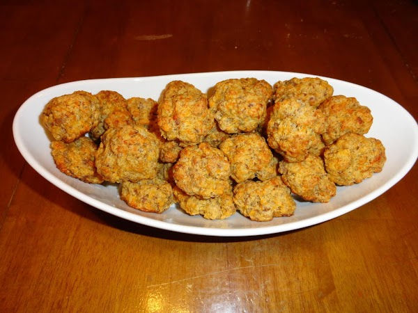 Place on cookie sheet (sprayed with Pam) Bake at 350 for 20-25 minutes. ...