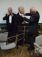 Photo: V.Guravičius. Prieš koncertą.