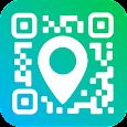 Geotag QR Code Reader & Barcode scanner app