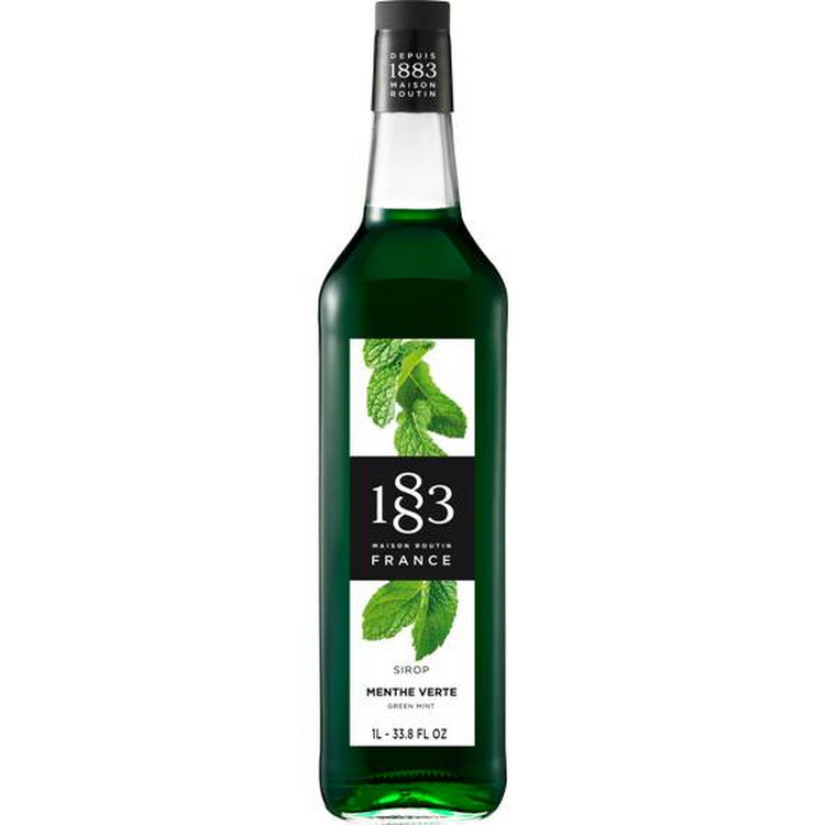 1883 GREEN MINT SYRUP 1L