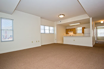 Go to One Bed, One Bath Handicap Accessible Floorplan page.