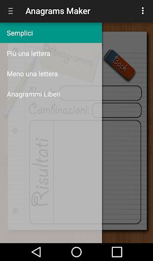 Anagrams Maker Italiano