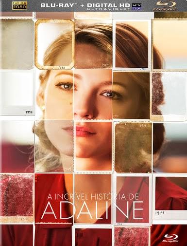 Filme Poster A Incrível História de Adaline BDRip XviD Dual Audio & RMVB Dublado