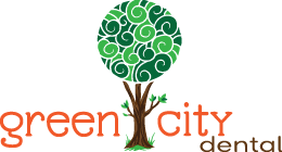 Green City Dental logo