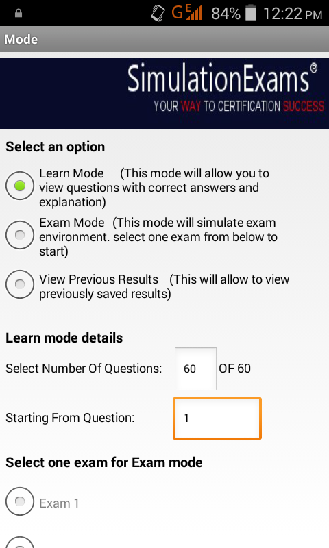 A+ Essentials 220-901 Exam Sim- screenshot
