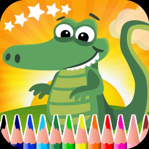 鳄鱼彩图 教育 App LOGO-APP試玩