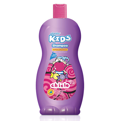 champu algabo kids bubble gum 350ml