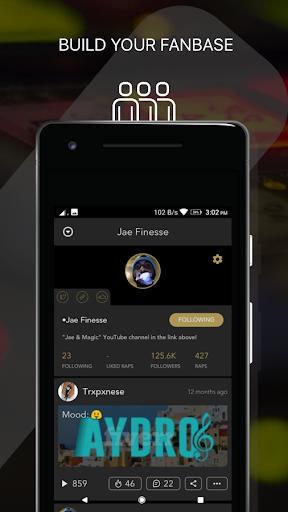 Rapchat: Social Rap Maker, Recording Studio, Beats screenshot 3