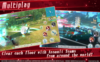 Sword Art Online: Integral Factor APK screenshot thumbnail 12