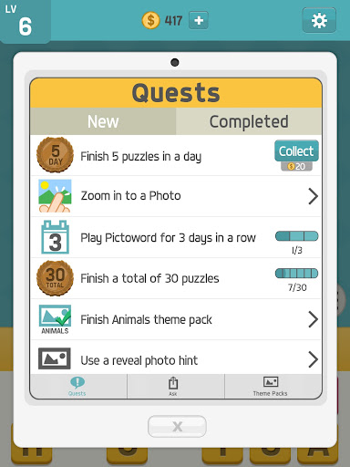 Pictoword: Fun Word Games, Offline Word Brain Game 1.7.18 screenshots 9