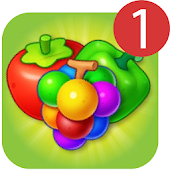 Fruits Crushneues kostenloses Match-3-Puzzle-Spiel icon