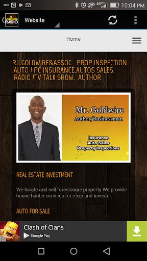 RJ Goldwire Radio  screenshots 3