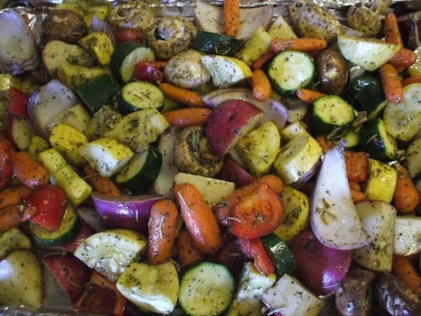 Oven-roasted Vegetables Recipe