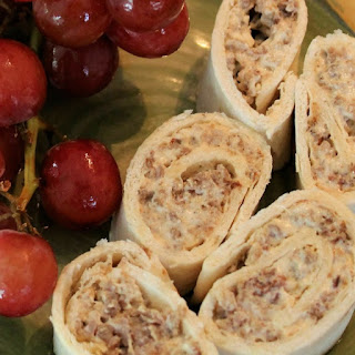 Sausage Cream Cheese Roll Ups.