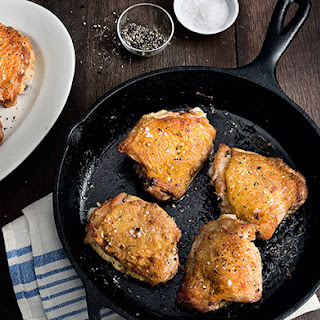 Perfect Pan-Roasted Chicken Thighs Recipe