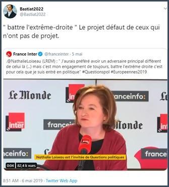 Bastiat2022 battre l'extrême droite le projet de ceux qui n'ont pas de projet