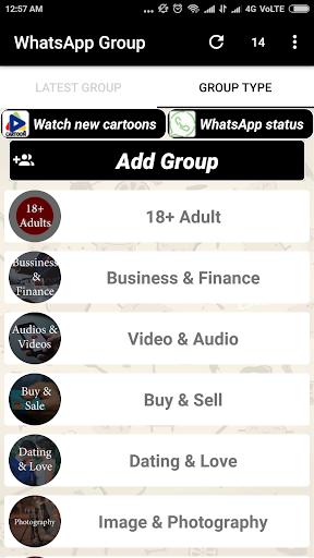 Groups For Whatsapp 1.4 screenshots 2