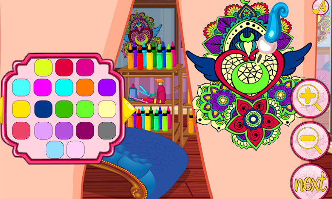 Princess tattoo artist screenshot