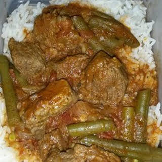 Arabic Green Beans with Beef.