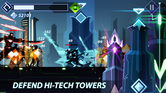 Overdrive – Ninja Shadow Revenge 1.8.4 MOD APK (Unlimited Money) 4