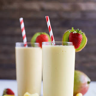 Tropical Mango Smoothie.