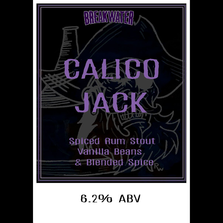 Logo of Breakwater And Taproom Calico Jack