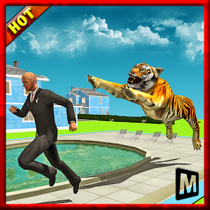 Angry Tiger in Crazy City for PC and MAC