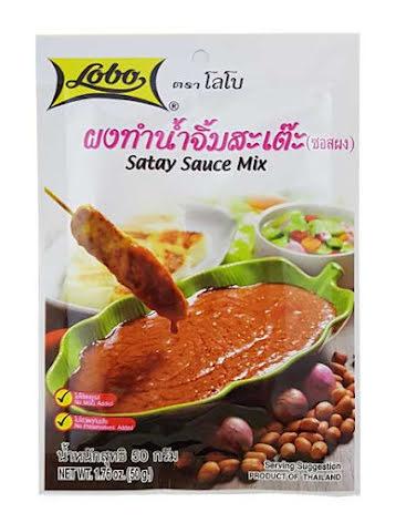 Satay Sauce Mix 50 g Lobo