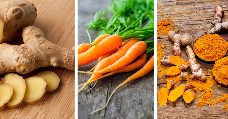 Superfood Trio: Ginger, Turmeric, and Carrots?