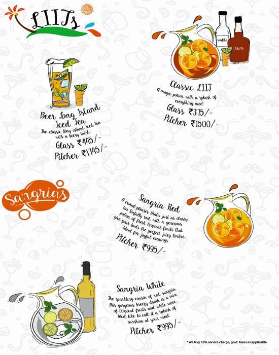 The Beer Cafe menu 9